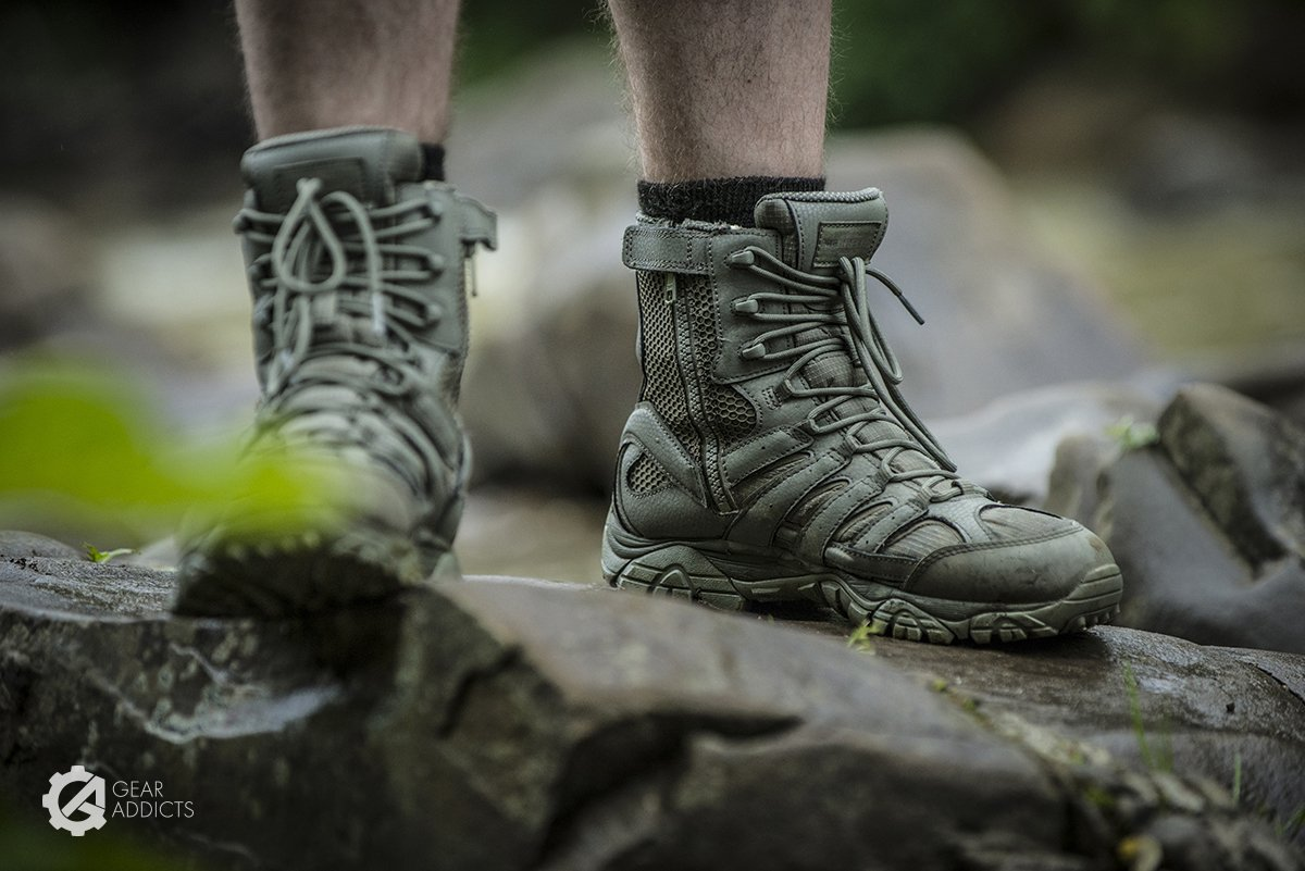 241ed5d1040 With time, Merrel decided to expand their offer and enter the tactical  footwear industry, proposing interesting solutions at reasonable prices.